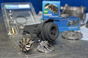turbinos detalės